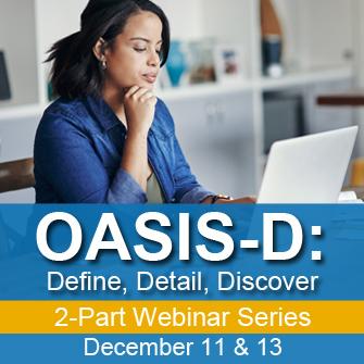 OASIS-D Webinar Ad